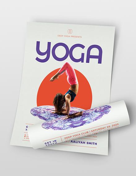 Yoga Flyer Download