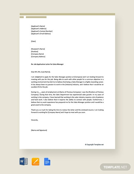 Free Sales Letter Sample For New Product Template Download 1440