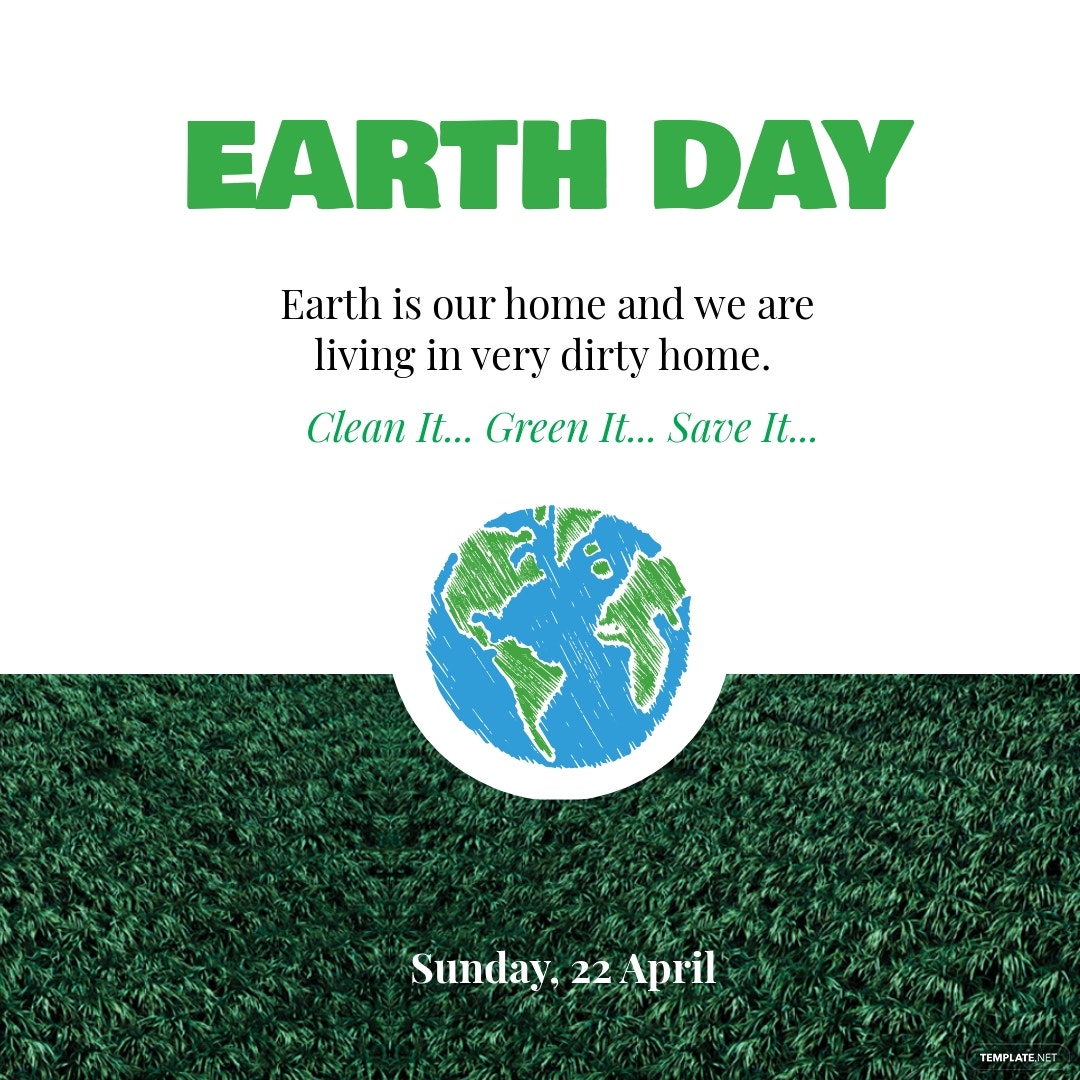 Earth Day Instagram Post
