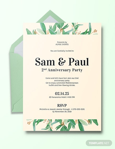 505 FREE Invitation Templates Download Ready Made