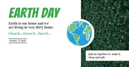 Free Earth Day LinkedIn Blog Post Template