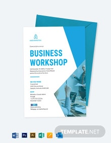 Business Invitation Card Template