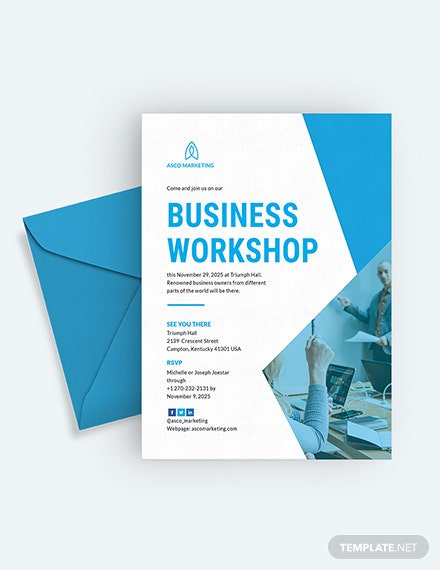 Business Invitation Card Download