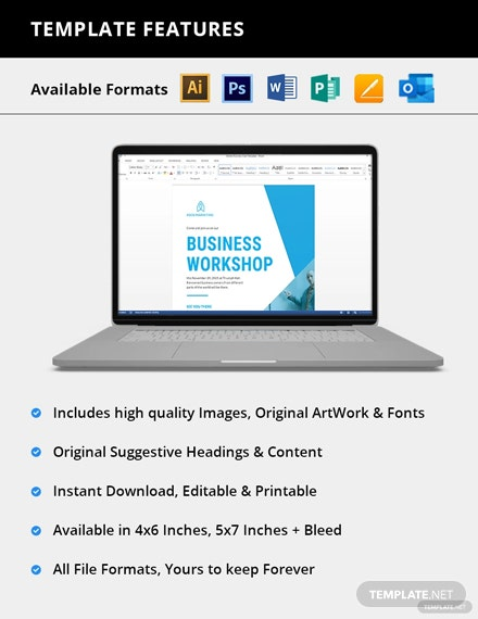 Editable Business Invitation Card