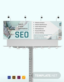 SEO Bill Board Template