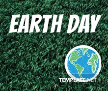 Free Earth Day LinkedIn Company Cover Template