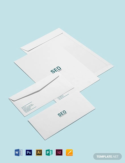 SEO Envelope Template