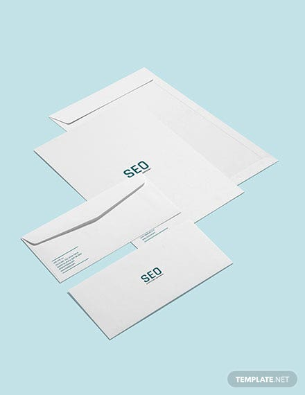 SEO Envelope Template