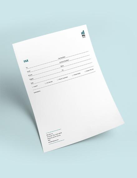 Sample SEO Fax Paper