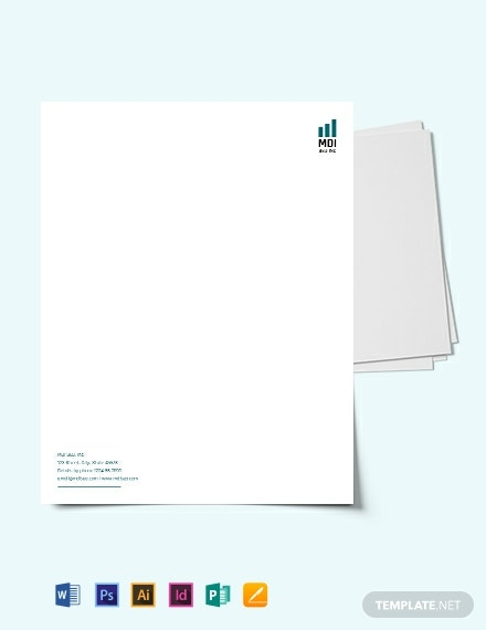 Download SEO Letterhead Template