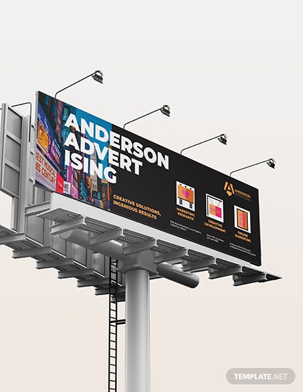 Sample Advertising agency Billboard