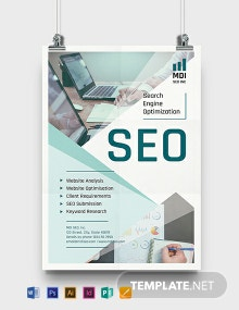 SEO Poster Template