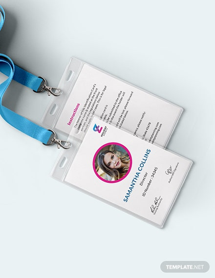 Event Planner ID Card Download
