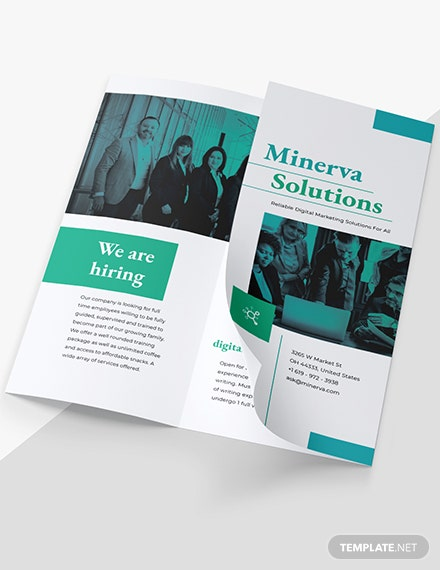 Sample Business Training TriFold Brochure
