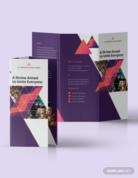 Sample Church TriFold Brochure