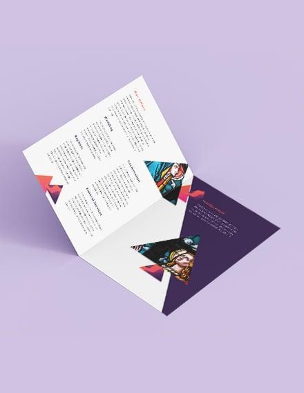 Church BiFold Brochure Download