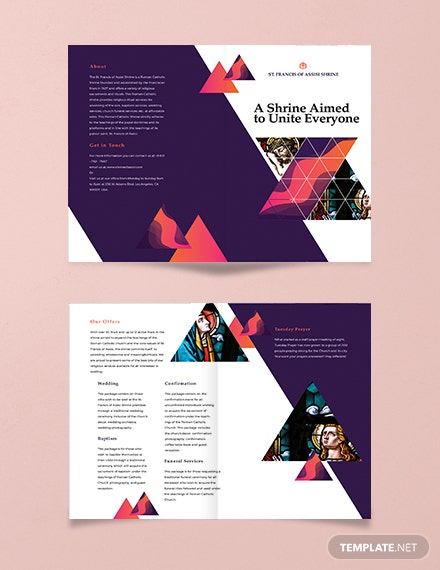 189 free pages brochure templates download ready made template net