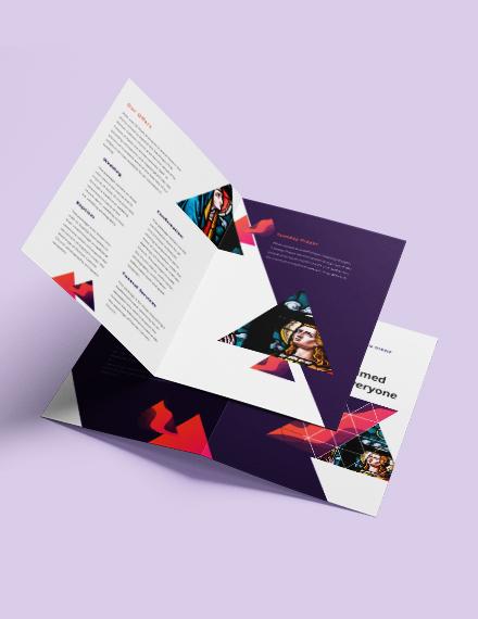 Sample Church BiFold Brochure