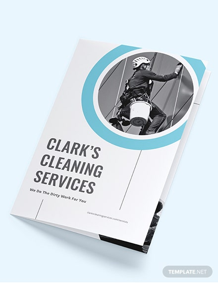 Cleaning Company BiFold Brochure Download