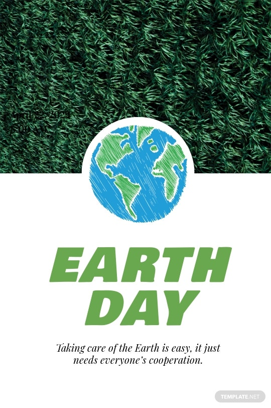 Earth Day Tumblr Post Template