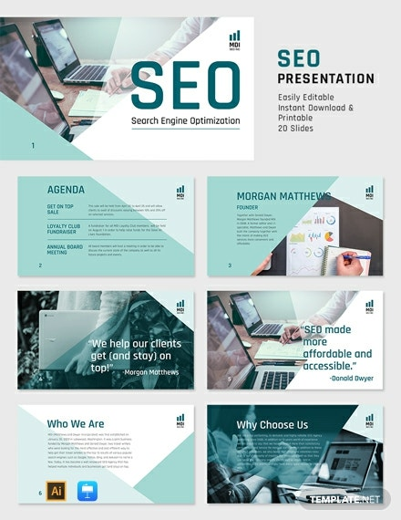 SEO Presentation Template