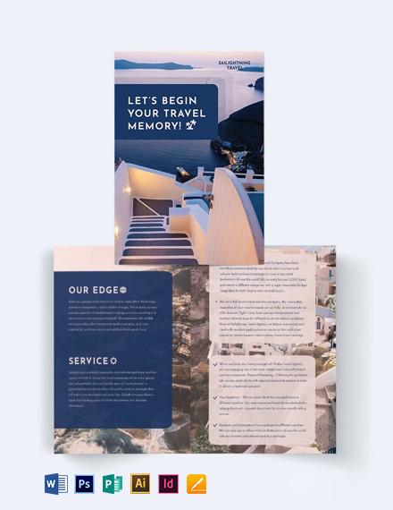 Travel Company BiFold Brochure