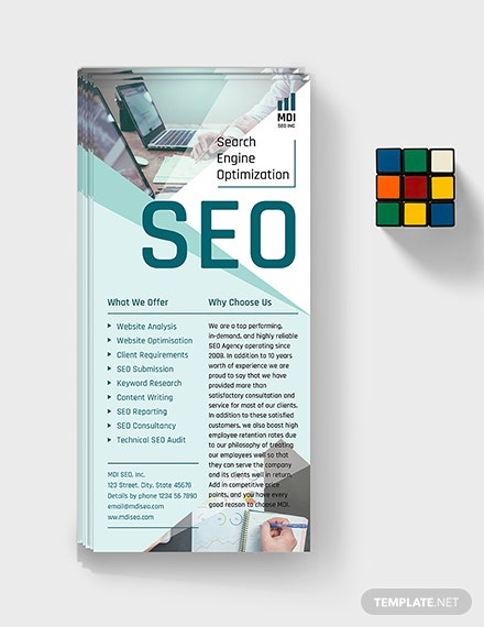 SEO Rack Card Download