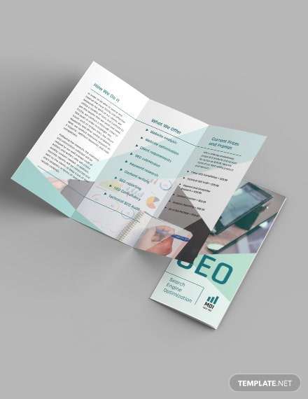 SEO Trifold Brochure Download