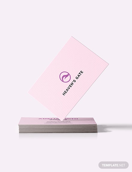 Massage Business Card Download