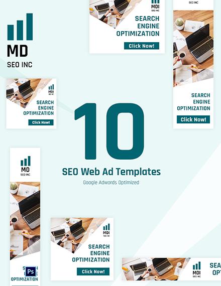 SEO Web Ad Templates