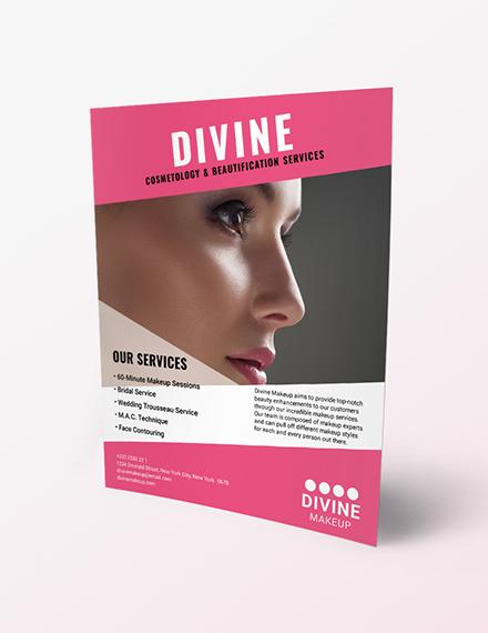 Makeup Artist Flyer Download
