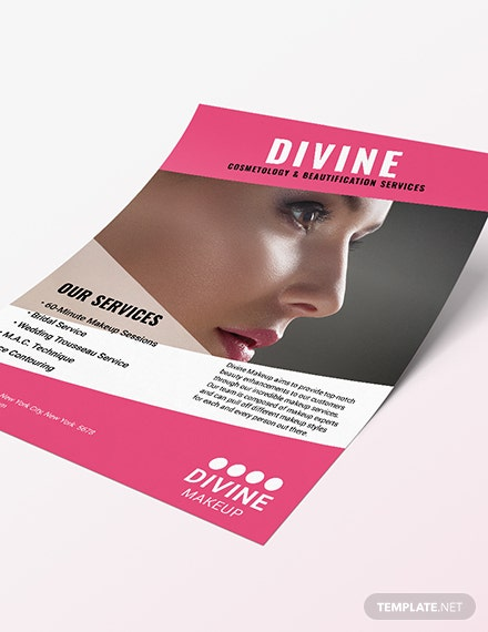 Makeup Artist Flyer Sample