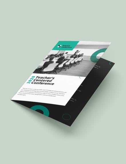 Conference Bi Fold Brochure Download