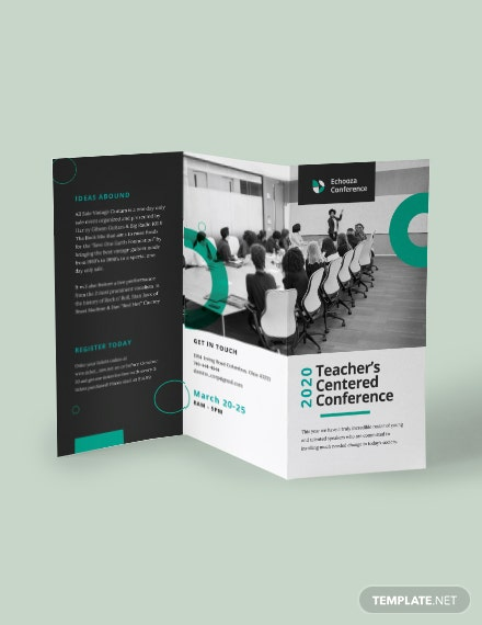 Conference Tri Fold Brochure Download