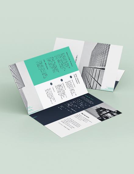 Corporate Bi Fold Brochure Download