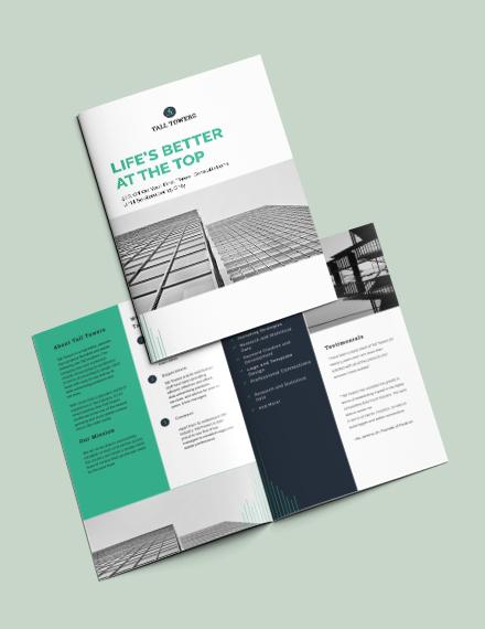 Sample Corporate Bi Fold Brochure