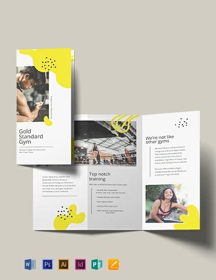 Church TriFold Brochure Template