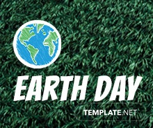 Free Earth Day YouTube Profile Photo Template