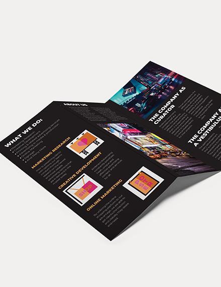 Advertising agency Tri Fold Brochure Download