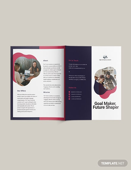 Sample Gate Fold Brochure