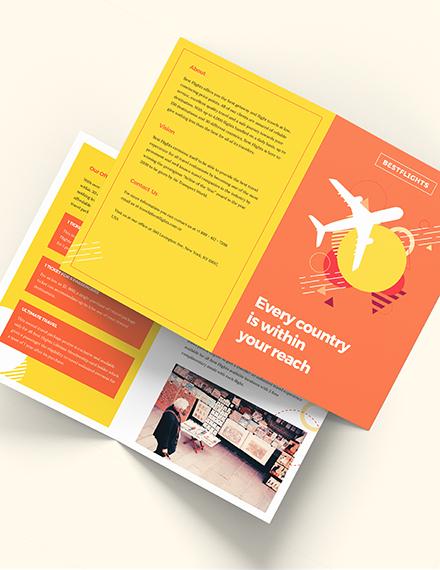 Half Fold Brochure Download