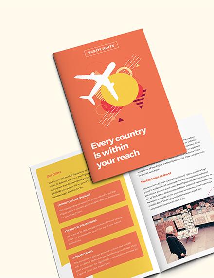 Sample Half Fold Brochure