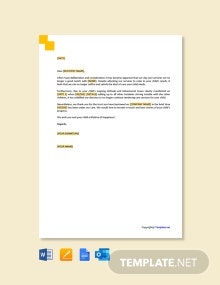 Free Daycare Termination Letter for Behavior