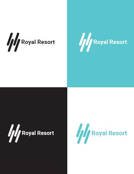 Royal Resort Logo Template