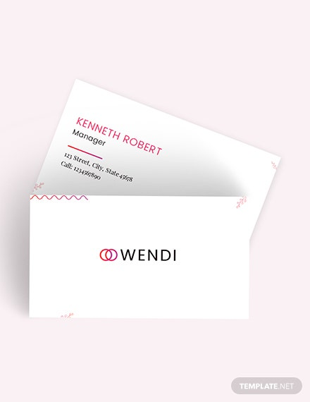 Wedding Planners Business Card Download