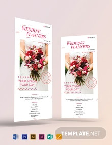 Wedding Planners DL Card Template
