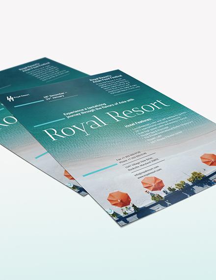 Royal Resort Flyer Download