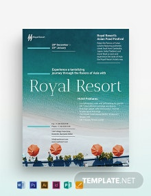 Royal Resort Flyer Template