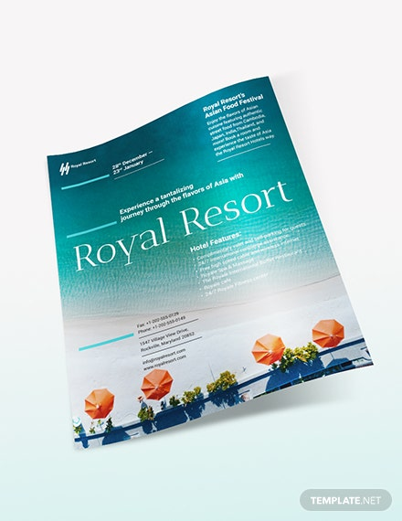 Sample Royal Resort Flyer