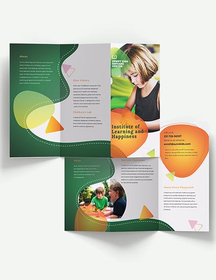 Preschool TriFold Brochure Download